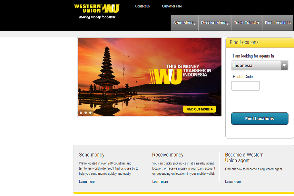 western union picture