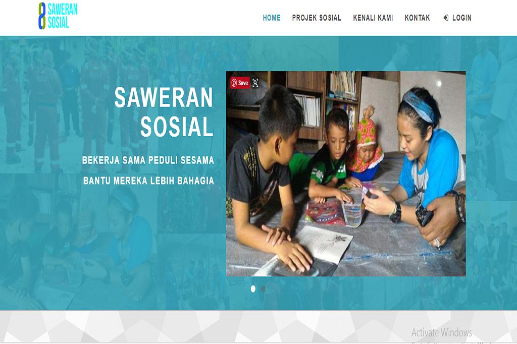 saweran sosial picture