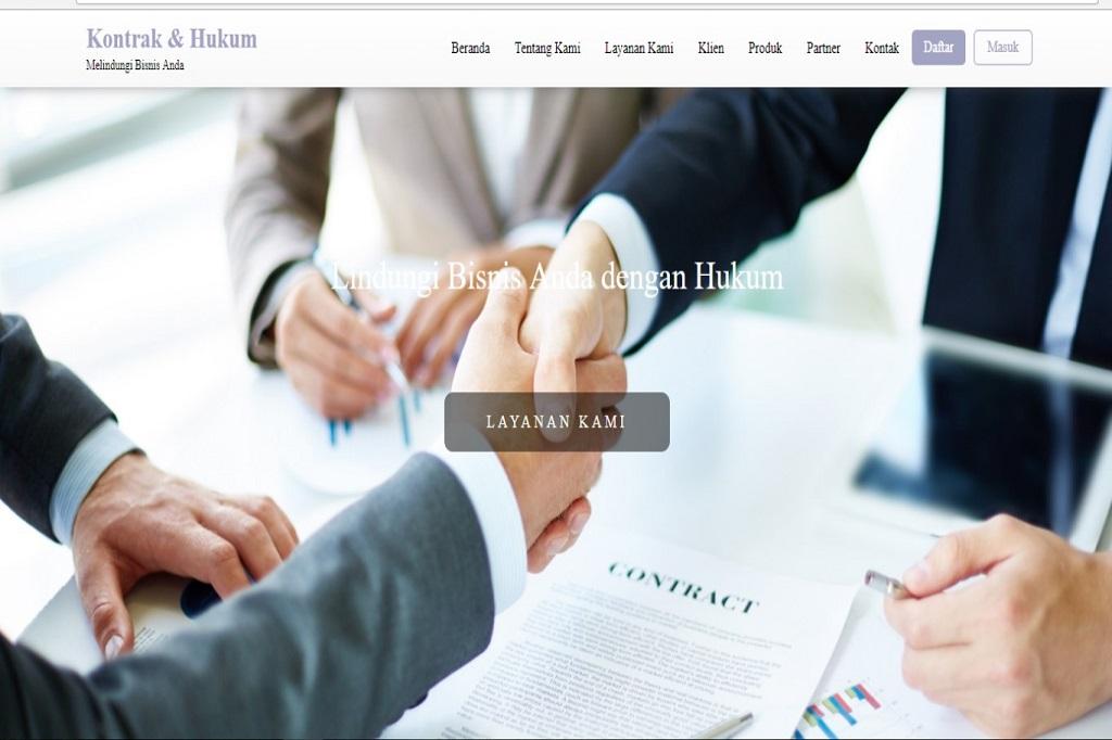 kontrak hukum picture